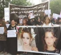 Donne protestano per Dünya a Sulaymaniyah