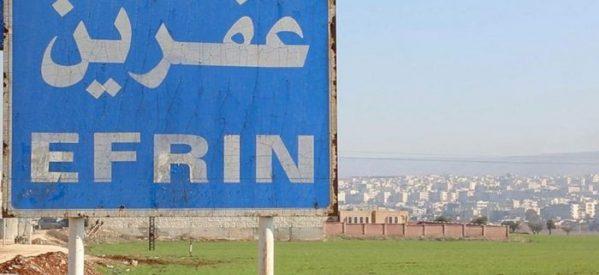 Panoramica del cambiamento demografico ad Afrin