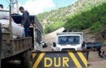 L'embargo del cibo nella regione curda dal ministero turco