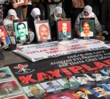 I parenti delle persone scomparse chiedono giustizia