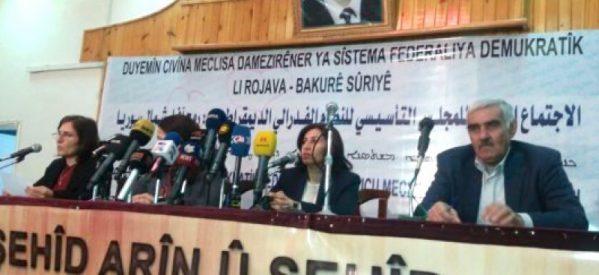 Assemblea costituente per una Siria Democratica Federale rilascia la dichiarazione conclusiva