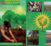 """Calendario Presentazioni del libro """"Make Rojava Green Again"""" in Italia"""