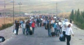 Göç-Der: Un milione di sfollati durante i recenti attacchi nella regione curda della Turchia