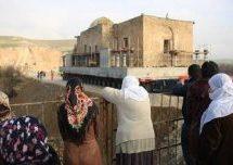 Moschea di Eyyübi spostata da Hasankeyf