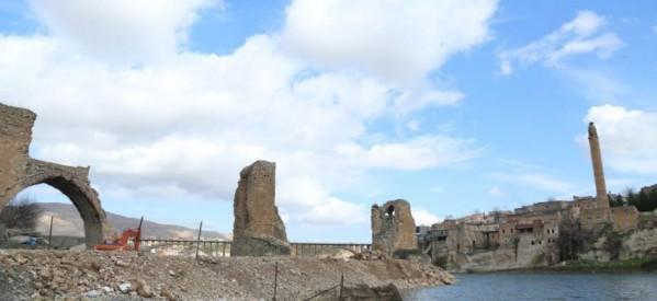 Hasankeyf- Militarizzato il cantiere della diga di Ilisu