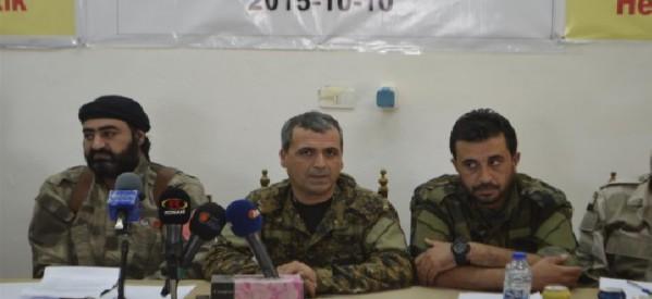 Le Forze Democratiche siriane  si sono stabilite nella città di Hesekê