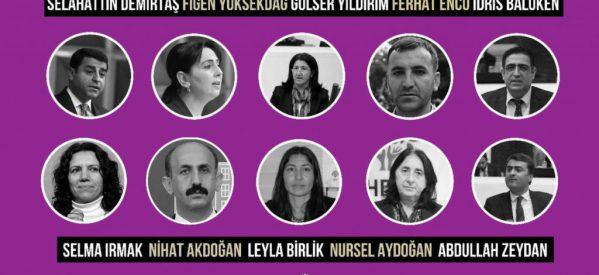 Anni di carcere per i deputati dell'HDP