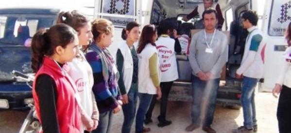 Napoli, Incontro con Mezzaluna Rossa Curda di Rojava, 8 novembre