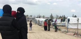 Due giorni nel campo delle donne di IS