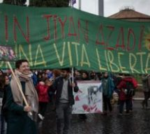 Manifestazione Non una di meno Roma: le donne inondano le strade