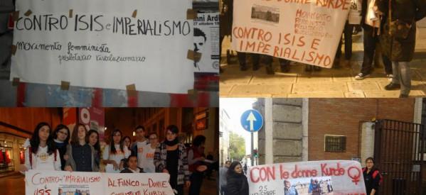 MFPR: Con le donne curde contro ISIS e Imperialismo