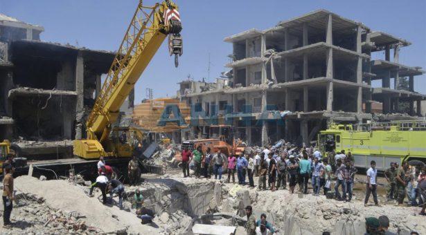 Molte persone sono state uccise da un camion bomba a Qamishlo