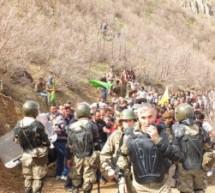 In migliaia protestano contro i militari turchi ad Hakkari