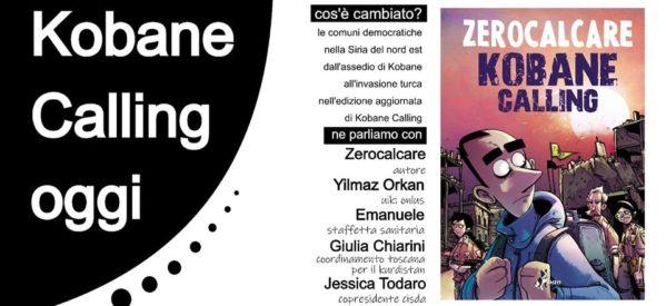 Kobane Calling Oggi – presentazione con Zerocalcare- 23 maggio 2020