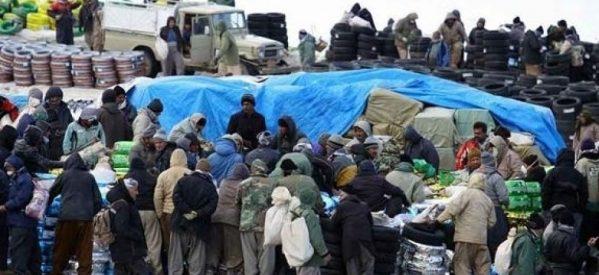 1300 kolbar circondati dalle forze del regime iraniano