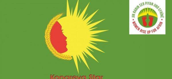 KongraStar: Appello per la Campagna Globale di Solidarietà:le donne insorgono per Afrin!