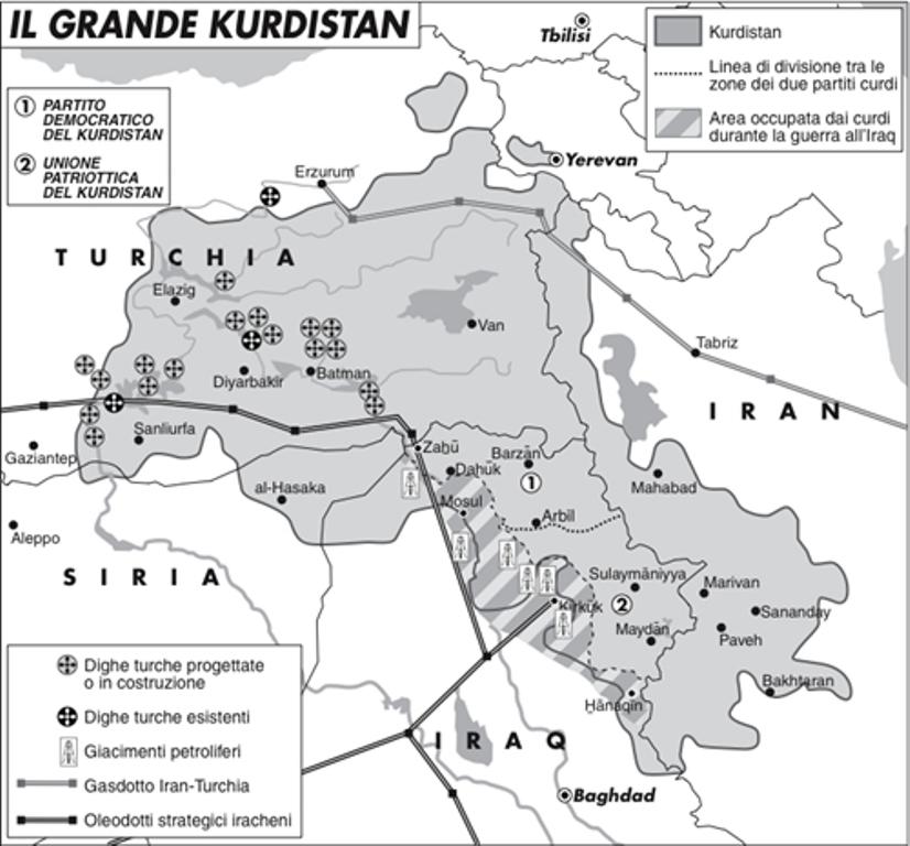 Cartina Kurdistan.Sicurezza O Diritti Umani Il Processo Di Imrali E La Questione Curda In Turchia Uiki Onlus
