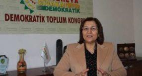 """Deputata curda in sciopero della fame pronta a """"protestare fino alla morte"""""""