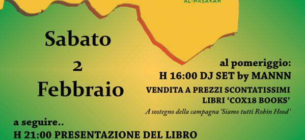 Milano, Presentazione del libro 'Make Rojava Green Again' il 2 febbraio