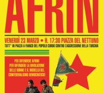 Bologna #GlobalActionforAfrin