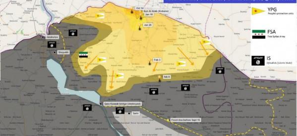 Una richiesta di aiuti internazionali per ricostruire e normalizzare la vita nel Cantone di Kobane