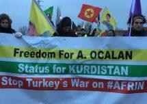 """Invito alla Lunga Marcia:""""Libertà per Abdullah Öcalan"""" da Lussemburgo a Strasburgo dal 10 al 16 febbraio 2019"""