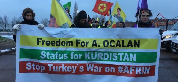 """Invito alla Lunga Marcia:""""Per la pace e la democrazia; Libertà per Abdullah Öcalan"""" da Lussemburgo a Strasburgo dal 10 al 16 febbraio 2019"""