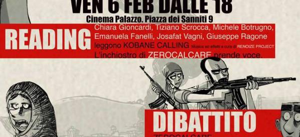 Matite per Kobane: a Roma 6 febbraio
