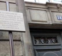 A Parigi monumento eretto in memoria di Sakine, Fidan e Leyla