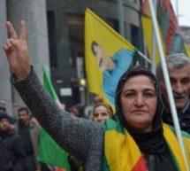 MIlano, Presidio contro i bombardamenti in Kurdistan 20 dicembre
