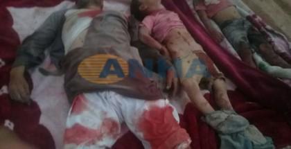 L'Esercito turco commette un massacro a Manbij, civili massacrati
