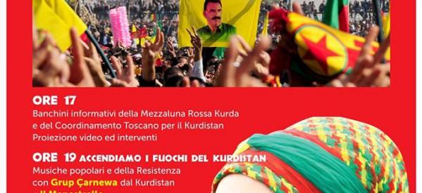 Firenze-Newroz il capodanno del Kurdistan, il 19 marzo