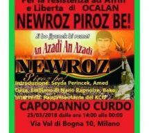 Newroz a Milano il 25 marzo