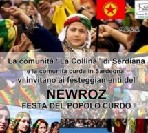 NEWROZ in Serdiana/Sardegna il 22 marzo
