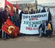 """Movimento NO TAP: Giù le mani dal Rojava! """"Non Lasciamo che afrin diventi come Kobane"""""""