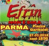 Parma, Fermate la guerra della Turchia contro i curdi