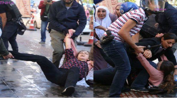 La polizia aggredisce Ata, Uca, Bağrıyanık a Amed