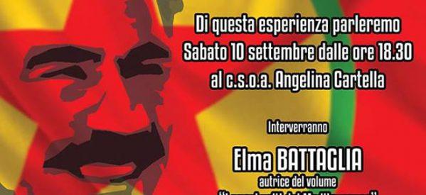 Reggio Calabria – Un'utopia concreta: il confederalismo democratico curdo il 10 settembre