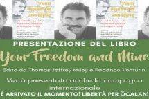 """Rimini- Presentazione del libro """"Your Freedom and Mine"""" il 17 ottobre"""