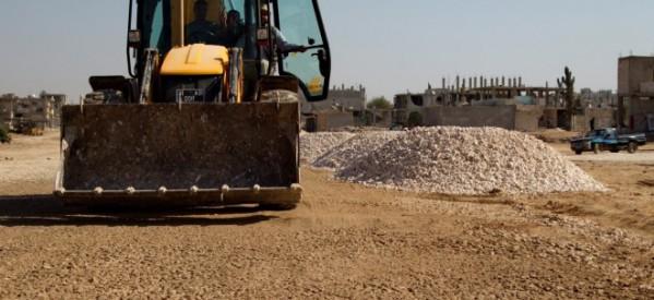 È iniziata la ricostruzione delle strade del cantone di Kobanê