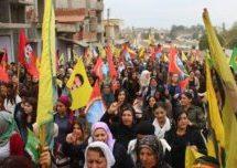 Il popolo del nord-est della Siria si ribella alle minacce turche
