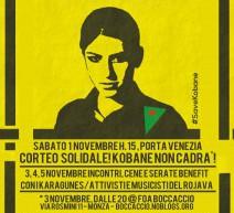 Kobane, Rojava, Kurdistan, Medio Oriente. Una Rivoluzione contro la barbarie. 5 Novembre al Cantiere