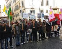 Giustizia per Sakine, Fidan e Leyla, Kurdi in Piazza Farnese