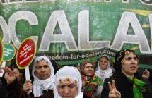 Roma- Presidio per la libertà di Ocalan 16 novembre