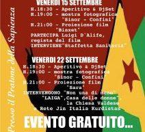 Roma il 15-22 settembre, alla Sapienza, un viaggio nel Kurdistan Siriano