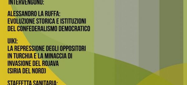 Roma,12 Febbraio: La questione curda; evoluzione, prospettiva e progetti di soliderietà