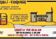 Rouge: una vignetta per 7 ottobre #Free Ocalan