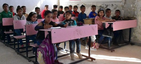 Shahba: Imparare nonostante la fuga e la guerra