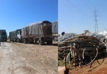 18 camion di aiuti hanno raggiunto al-Shahba