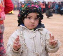 I bambini di Afrin a Shehba sperano di tornare a casa